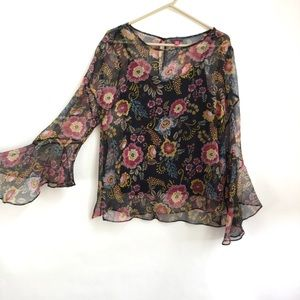 NWOT Vince Camuto Top with Camisole (A)